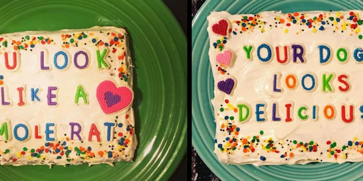 Troll Cakes, троллинг