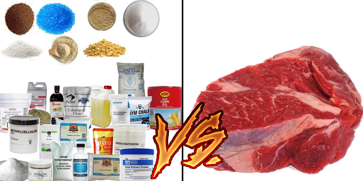 Мясо, заменители
