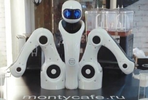 MontyCafe, Москва, робокоф, робокафе