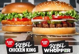 Rebel Whopper, Burger King, Европа, веганство, бургер
