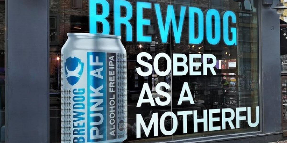 Brewdog, Punk, реклама