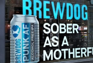Brewdog, Punk, реклама