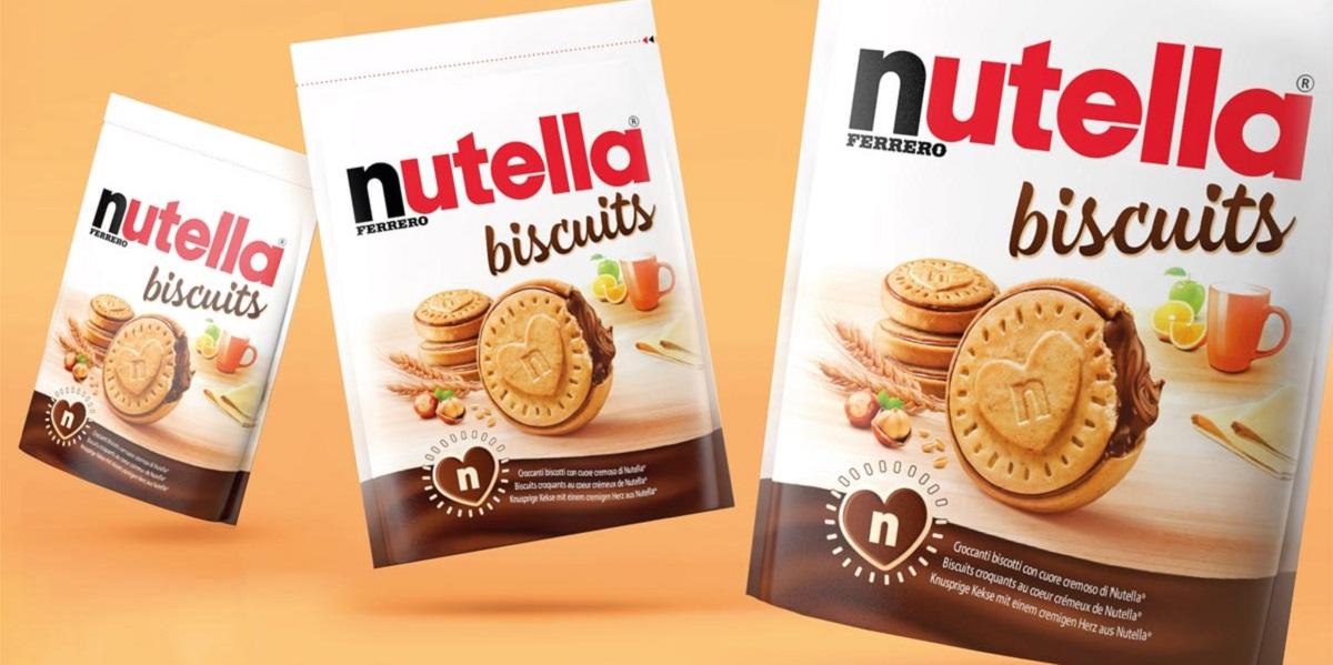Nutella,печенье,бисквиты