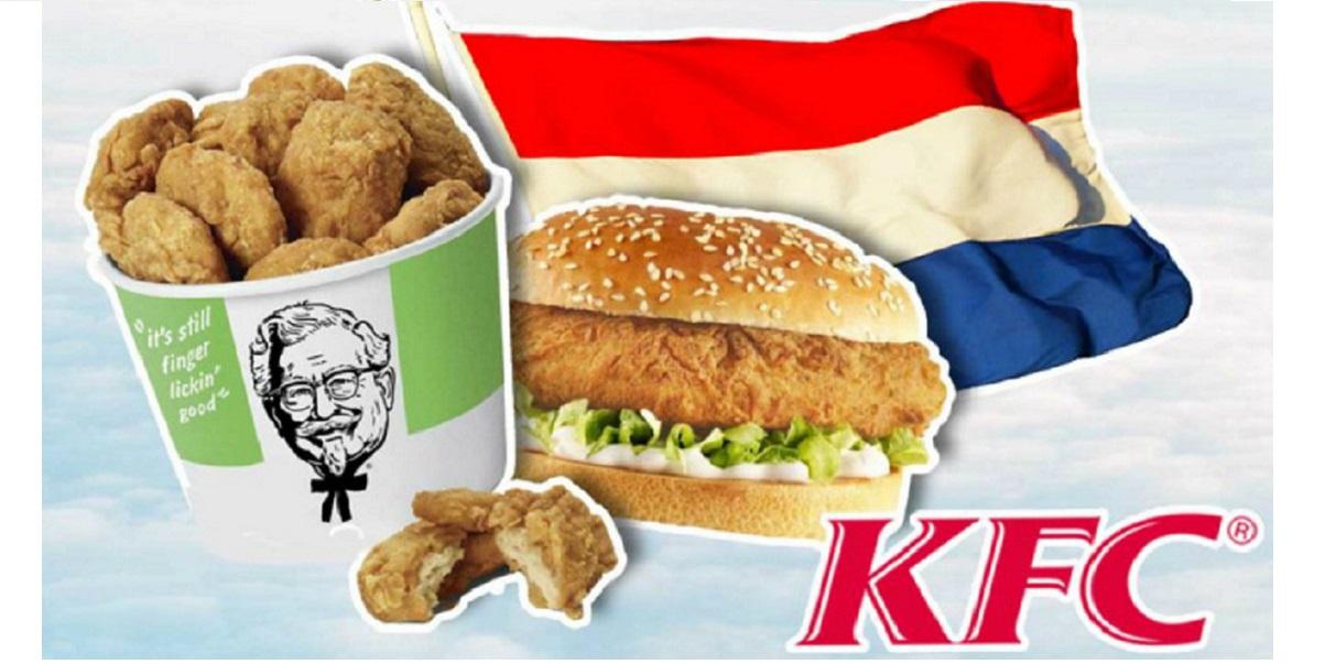 KFC боксы, Chickenless box meals,веганство,Ротердам