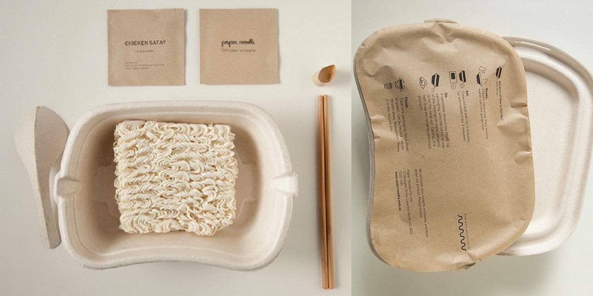 Paper Noodle, биоупаковка, экоупаковка, Австралия