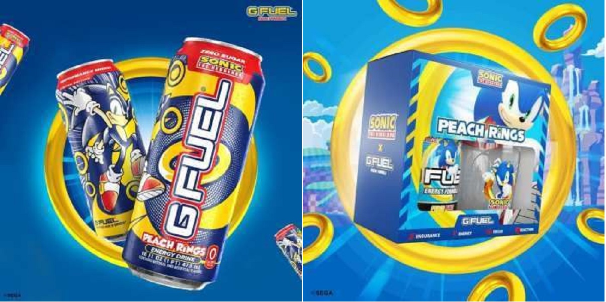 Sega,G Fuel,Sonic's Peach Rings