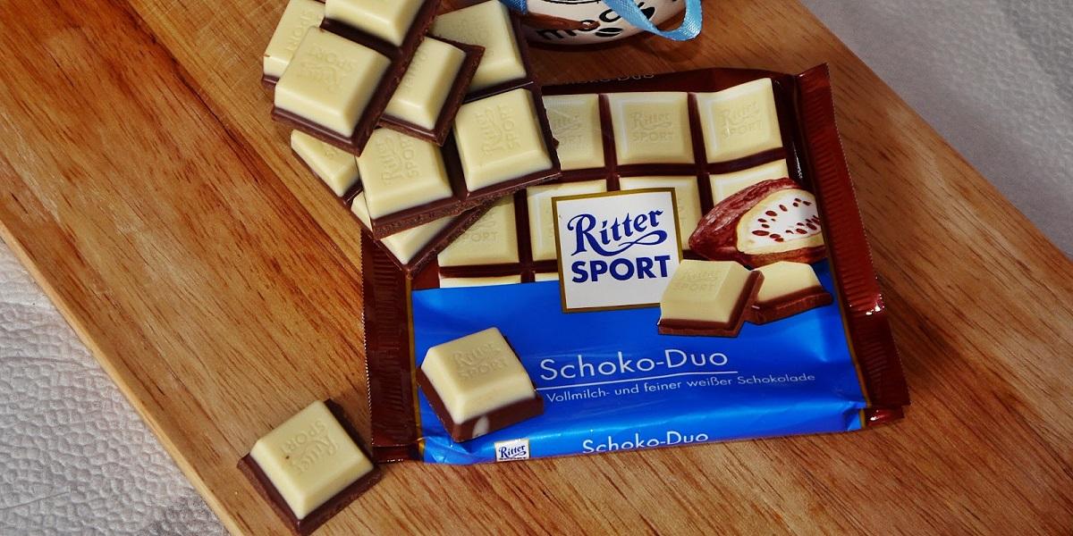 Ritter Sport, квадратные плитки, шоколода, только Риттер Спорт
