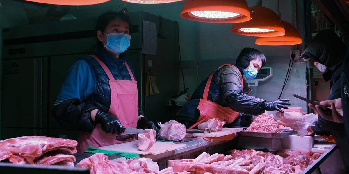 covid 19, антивирусный контроль, импорт, мясо, Китай