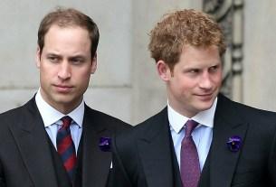 Великобритания, принц Гарри, принц Уильям
