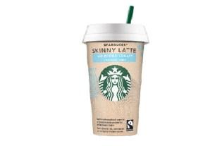 Starbucks Skinny Latte, безлактозное молоко, кофе