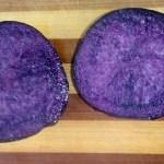 Фермер, Хакасия, фиолетовый картофель