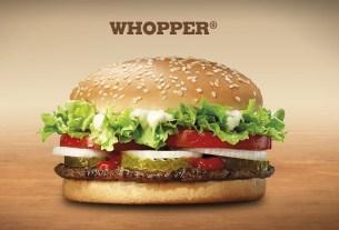 «Появление Воппера», Burger King, США, 1957