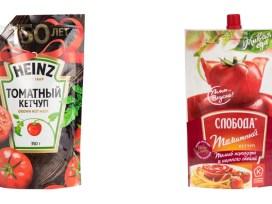 Лучшие кетчупы,Heinz,«Слобода», Роскачество, томатные кетчупы