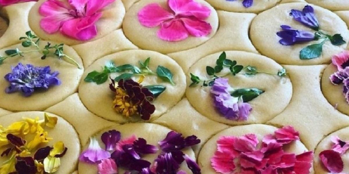 Лория Стерн, пекарь, США, печенье с живыми цветами, спрессованные цветы