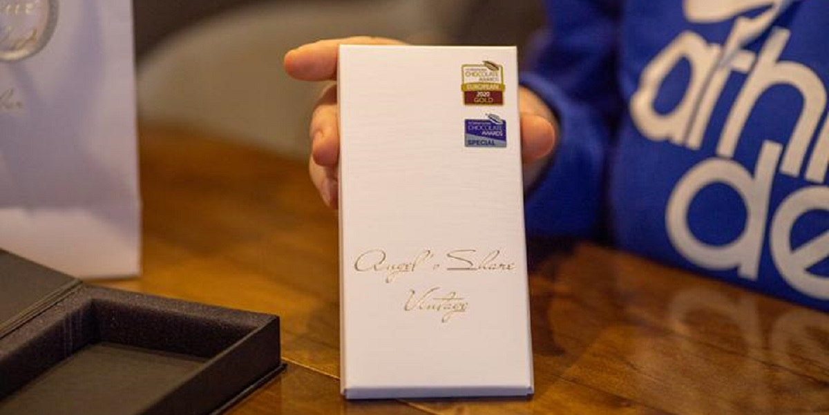 International Chocolate Award, шоколад из бочки, шоколад «Доля ангела»