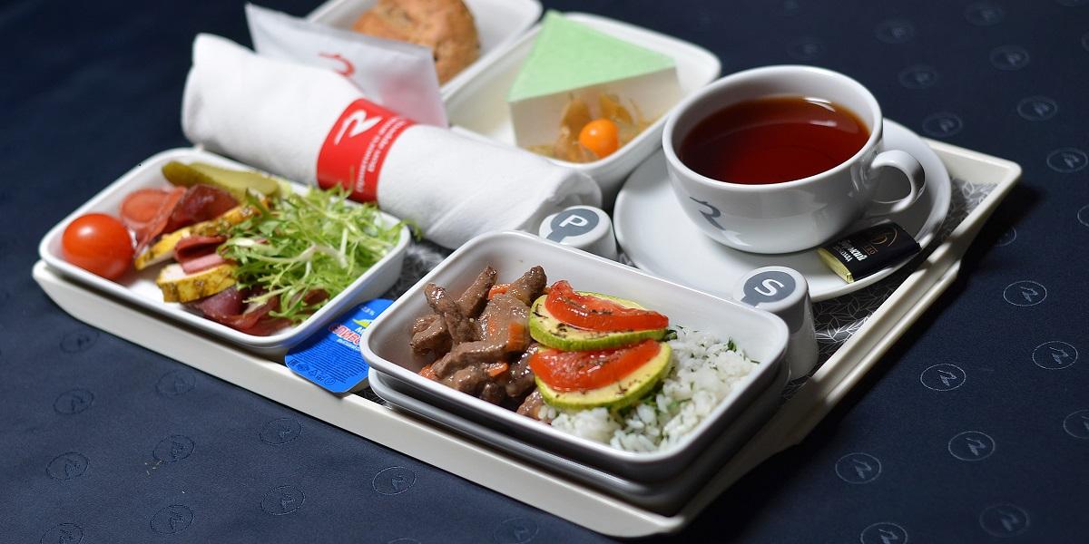 Авиакомпании, бортовое питание