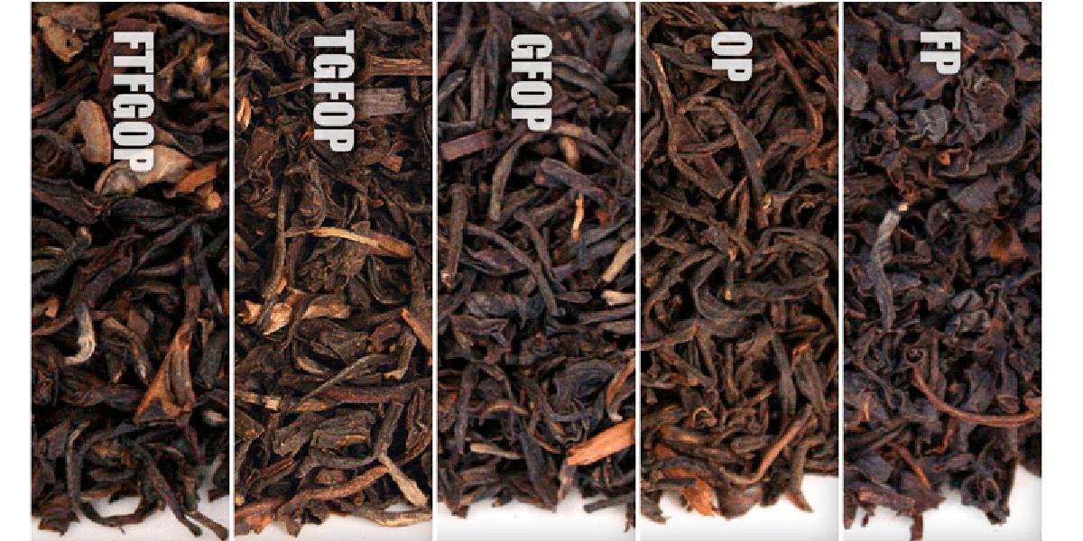 Чай, листья, сорта