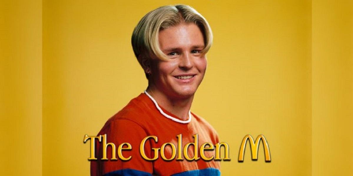 McDonald's, Швеция, McDonald's Sweden, «Golden M», причёска