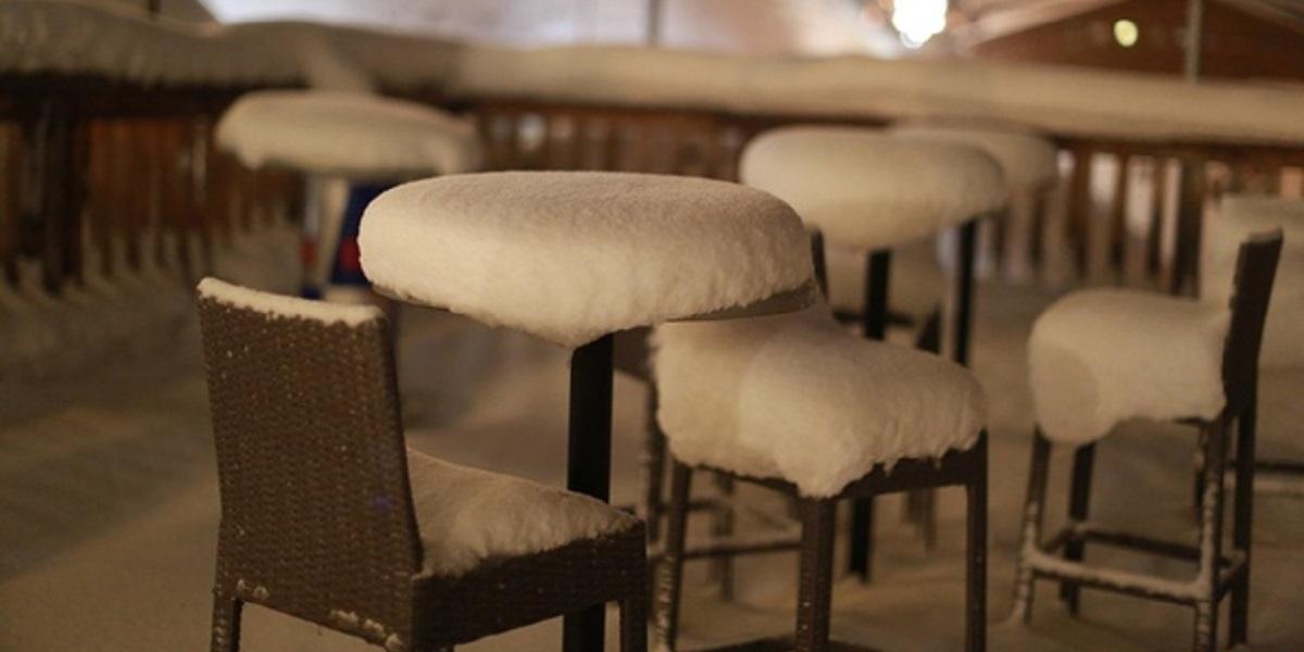 «зимние кафе», Санкт-Петербург, Новый год на морозе, все для людей