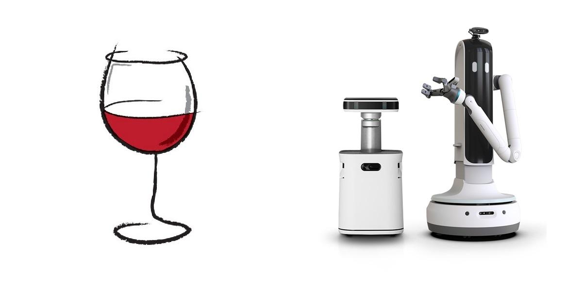 Bot Handy,робот виночерпий, Samsung для вина