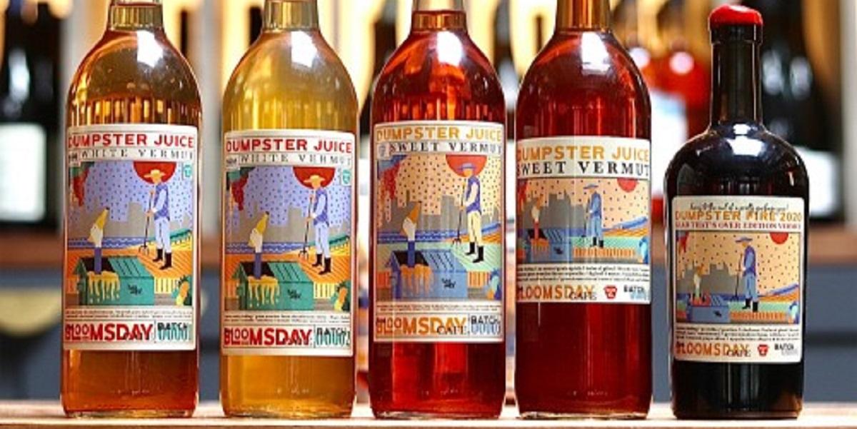 США, вермут, Dumpster Juice ,Bloomsday Café