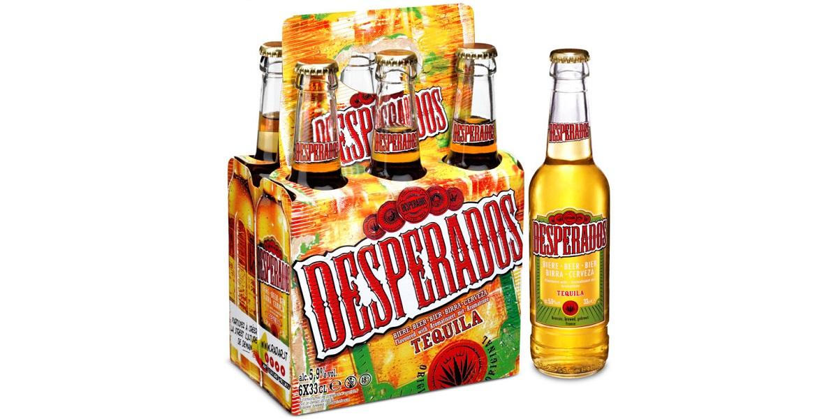 пиво Desperados, «пиво с текилой», Мексика против, текила только в Мексике