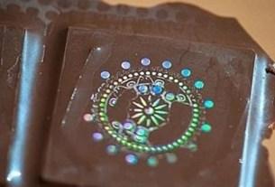Шоколад, голограмма