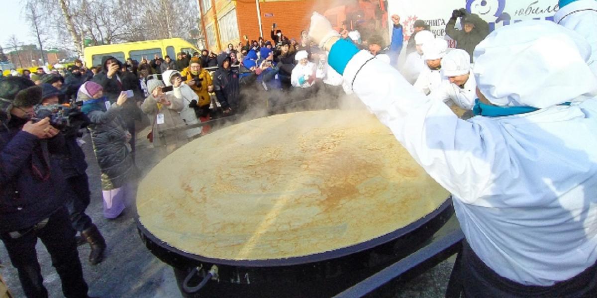 Татарстан, самый большой блин в России, фестиваль