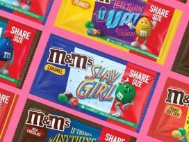 M&M's Messages, упаковка M&M's Messages,M&M's Messages Spotify, поющая упаковка