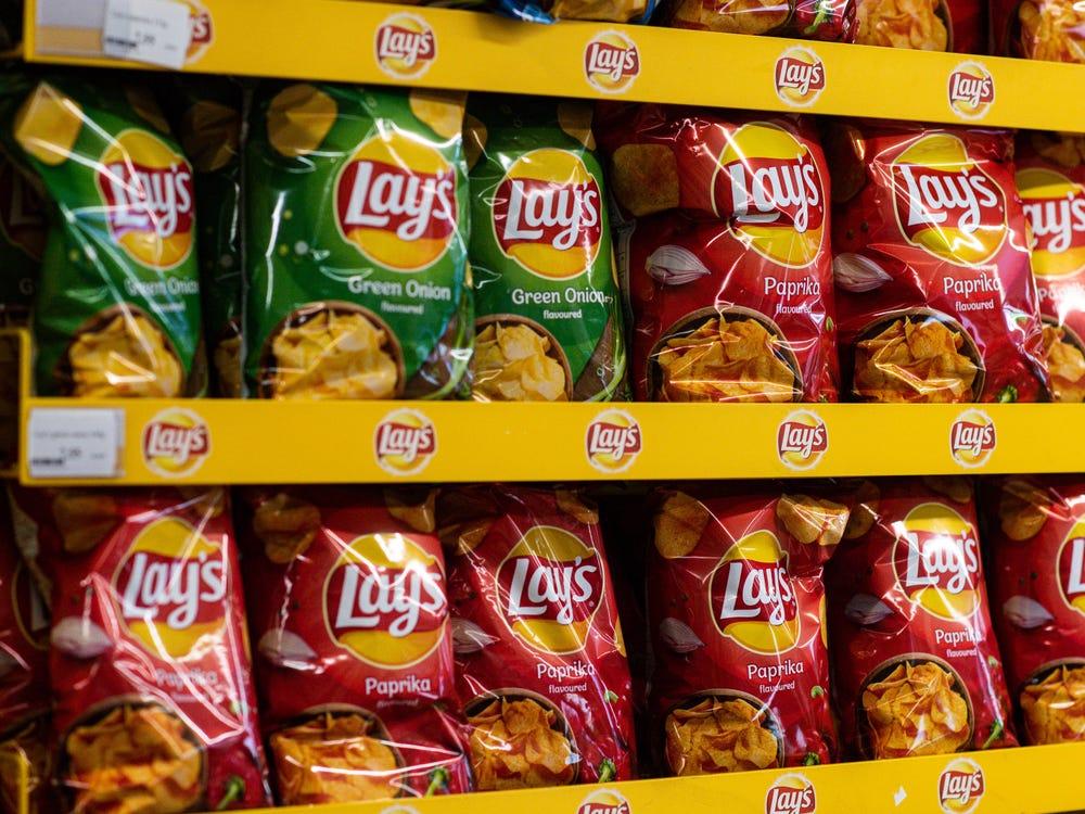 Lays, чипсы, варианты