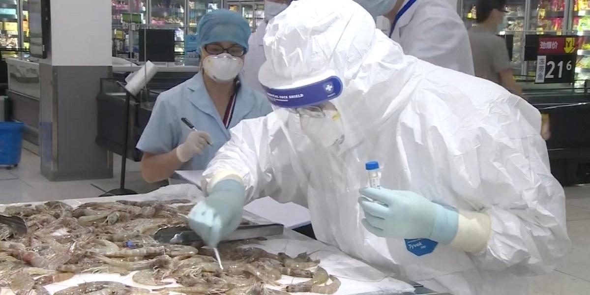 Замороженные креветки, морепродукты, коронавирус, импорт, Китай
