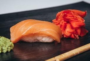 Тайвань, лосось, суши, Sushiro, ресторан