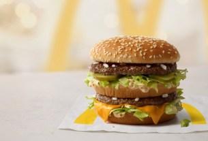 «Макдоналдс», без красителей, бургер без красителей, Биг Мак натуральный