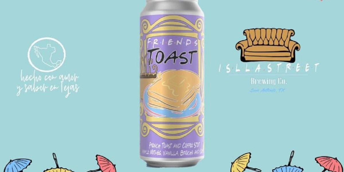 «Friends Toast», сериал «Друзья», стаут, пиво