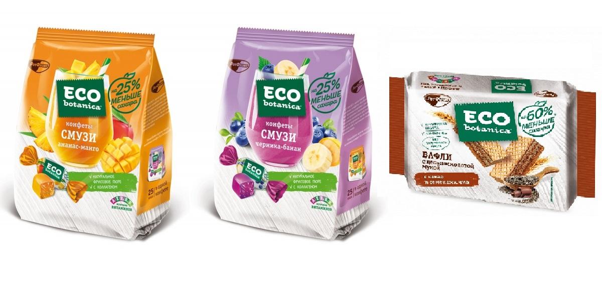 «ECO botanica», конфеты-смузи ивафли, без сахара