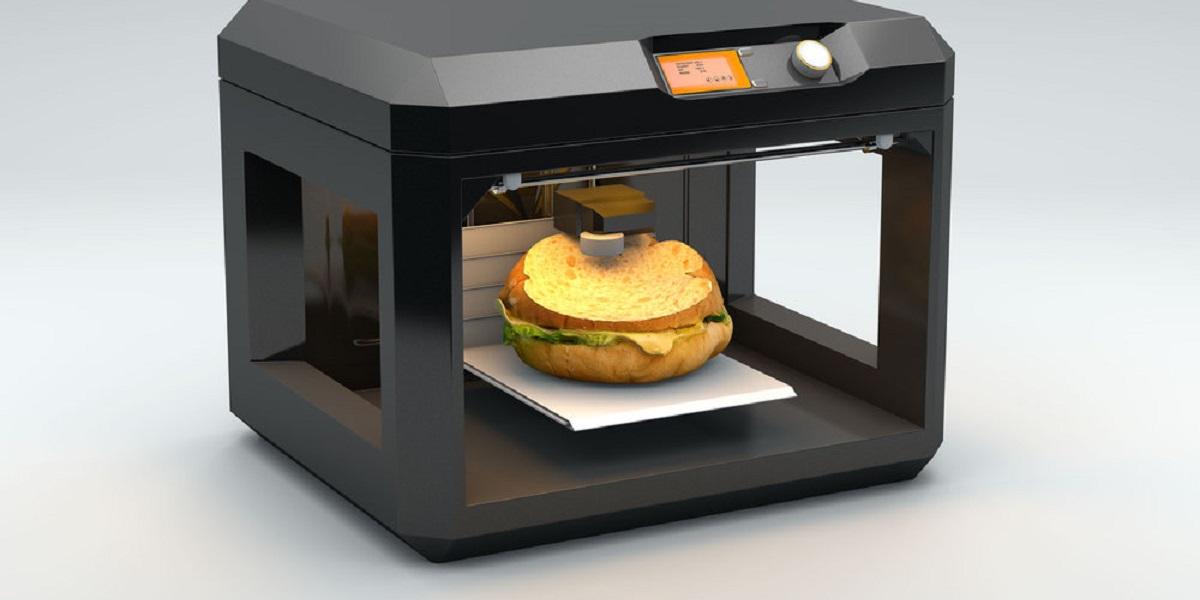 3D-принтер, 3D-еда, 3D-принтер в каждый дом