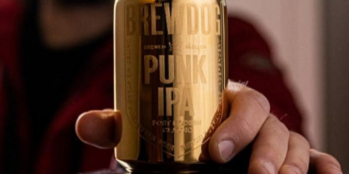 BrewDog, Punk IPA, золотая банка, не золотая банка, фейковое золото
