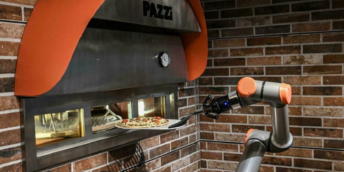 Pazzi, Париж, роботизированная пиццерия, роботы-повара, Себастьян Роверсо