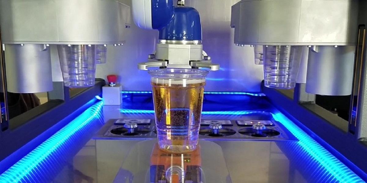 США, новая разработка, робот, пиво, пивной робот Hop, Hop Robotics