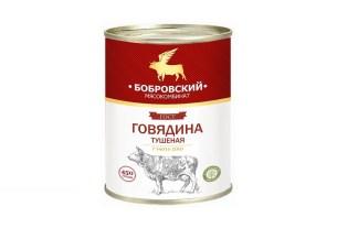 говяжья тушенка, «Фемида», «Мясокомбинат Бобровский»