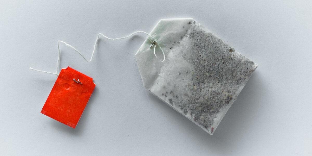 микропластик, чайный пакетик, пакетик-пирамидка