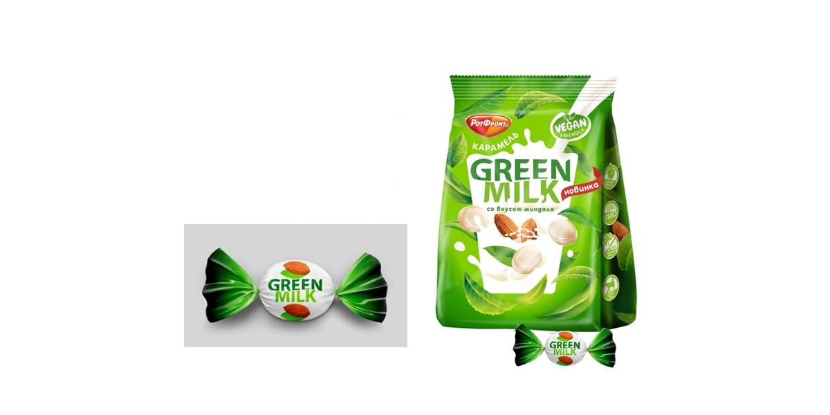 миндальное молоко, миндальные конфеты, «Green Milk»