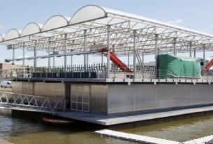 Плавучая ферма, Голландия, Минке ван Вингерден, экология, изменение климата, парниковые газы