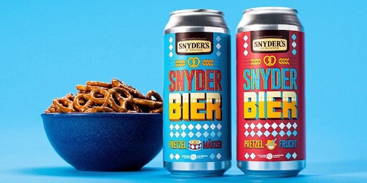 SnyderBier, пиво, крендели