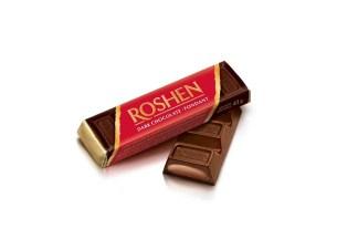 Шоколад Roshen, украинский шоколад, трансжиры