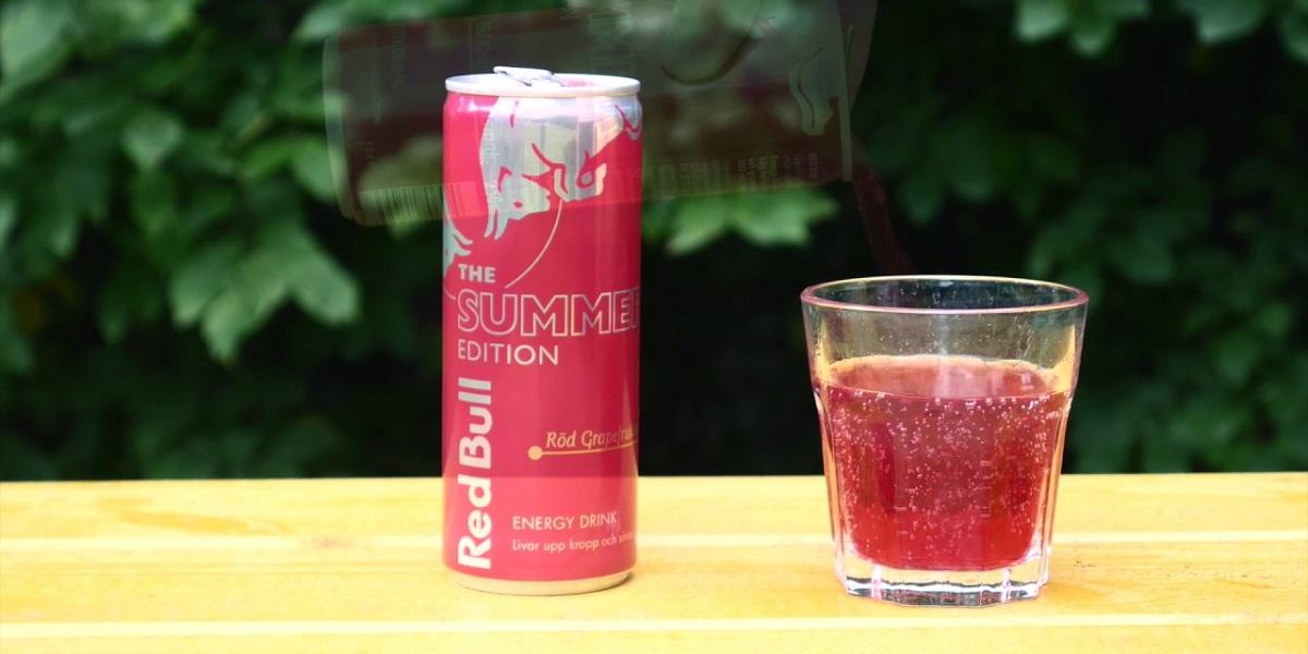 Red Bull Winter Edition Pomegranate, Red Bull, энергетик, гранат
