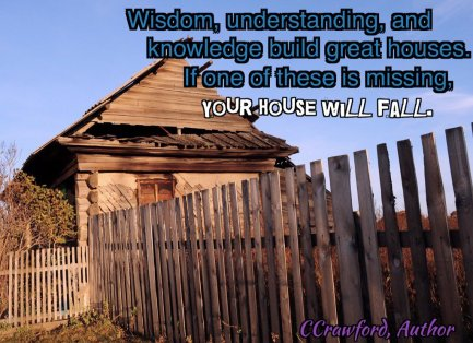 wisdom, understanding, knowledge