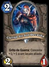 Clériga do Sol Decaída