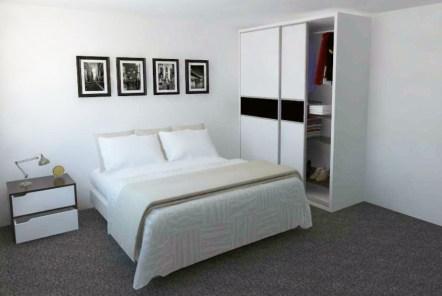 closet, armario, mueble de habitación