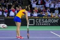 Dezamagire - Simona Halep @ FED Cup 2016